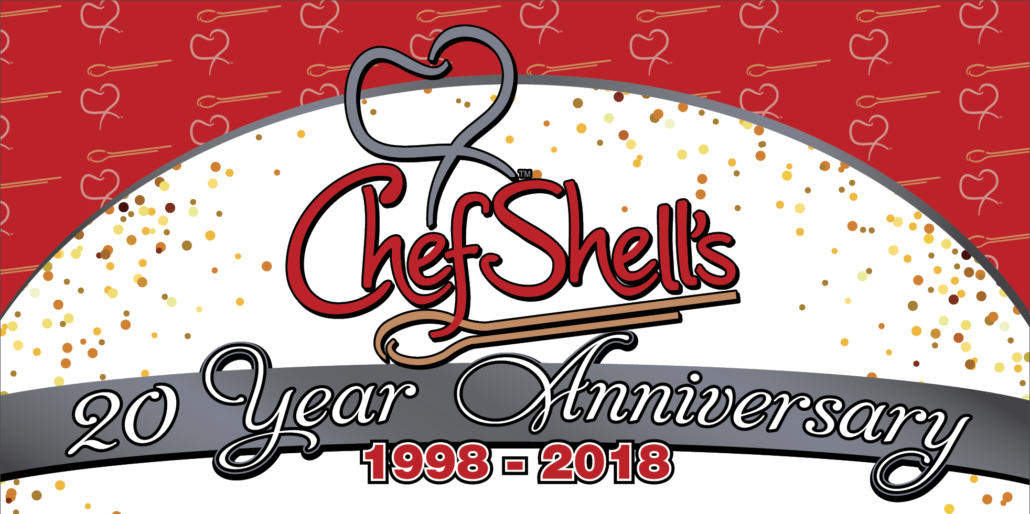 Chef Shell's 20 Year Anniversary